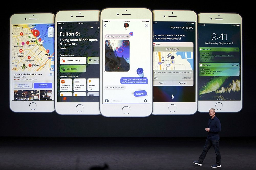 Официальная презентация iPhone 7 и 7 Plus