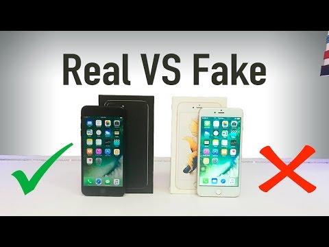 Оригинальный iPhone 7 или подделка