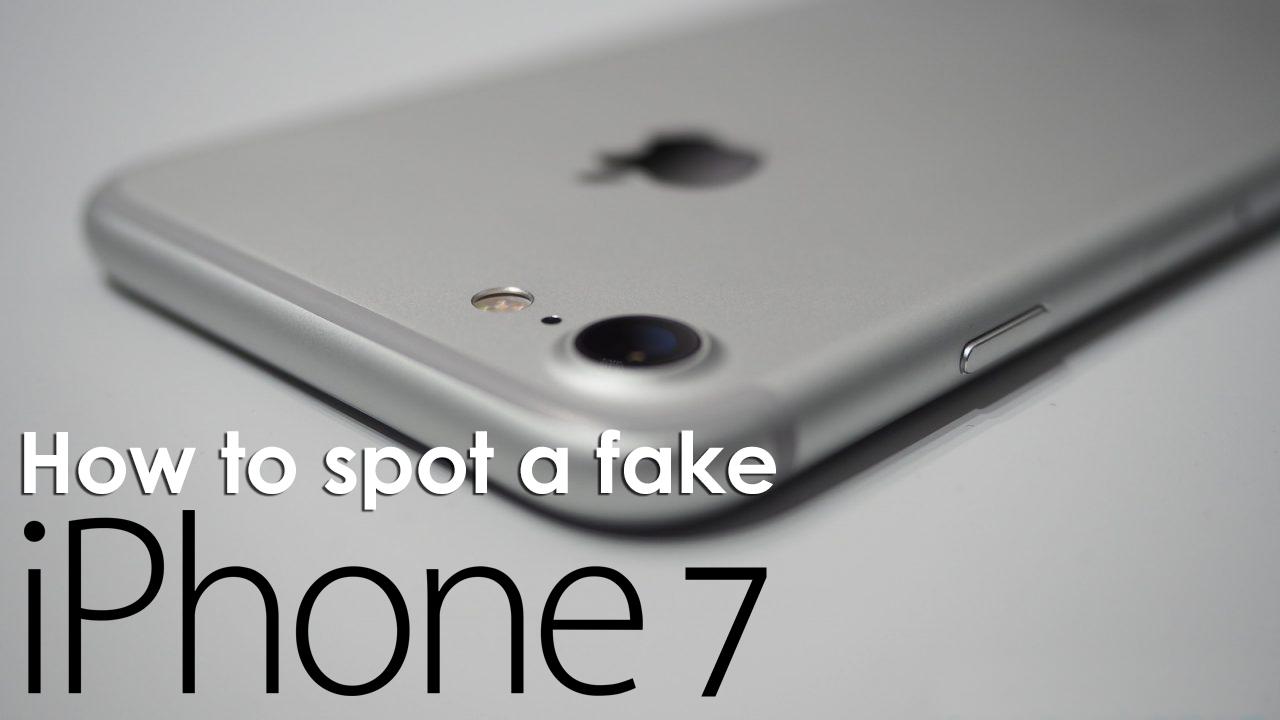 Как проверить iPhone 7 на подлинность?