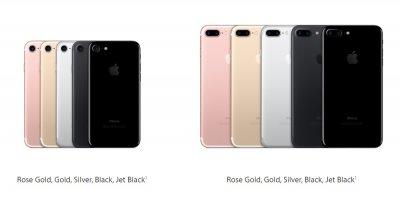 Что выбрать iPhone 7 или 7 Plus?