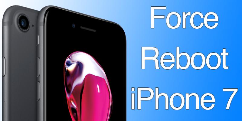 Как перезагрузить iPhone 7?