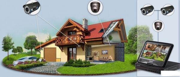 видеонаблюдение защита дома