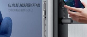 Умный дверной замок Xiaomi Aqara N100 со сканером отпечатков