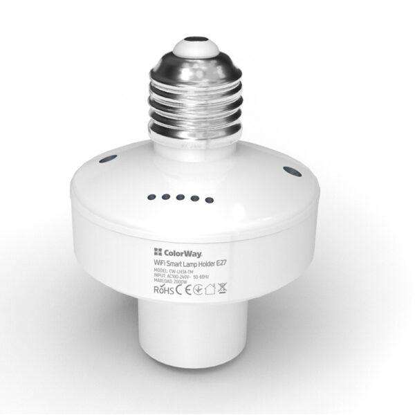 умный патрон ColorWay для лампочки