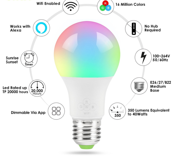 умные лампы устройство