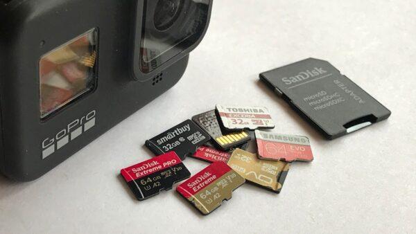 файловая система для экшн камеры