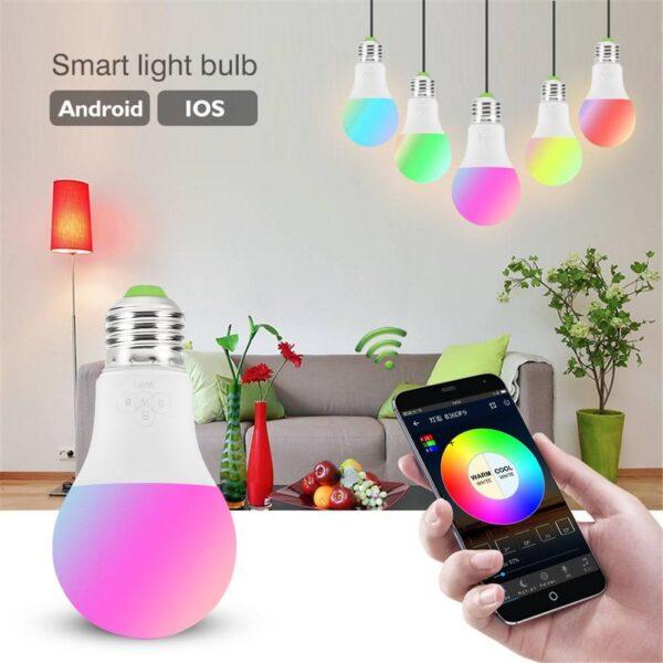 умная лампа