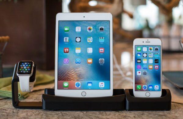 подключение двух устройств iPhone или iPad к Apple Watch