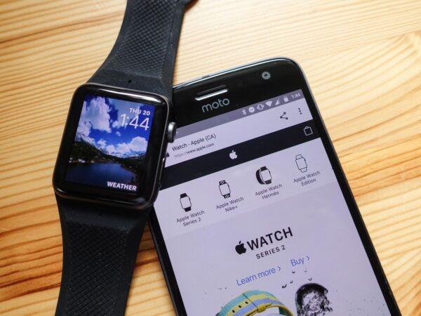 подключаем Apple Watch к Android