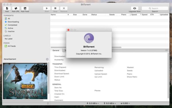 BitTorrent Official Client