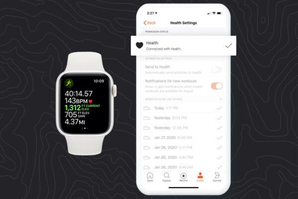 Apple Watch приложение Здоровье