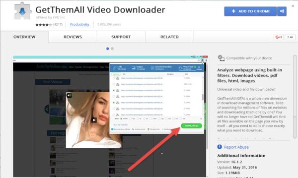 GetThemAll Video Downloader