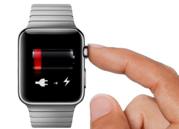 заряд Apple Watch