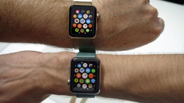экран Apple Watch 40 и 44 мм