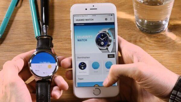 Сопряжения Huawei Watch с iPhone