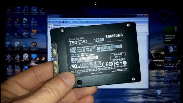 проверить SSD-диск Samsung на подлинность
