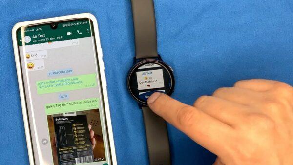 WhatsApp на Samsung Galaxy Watch