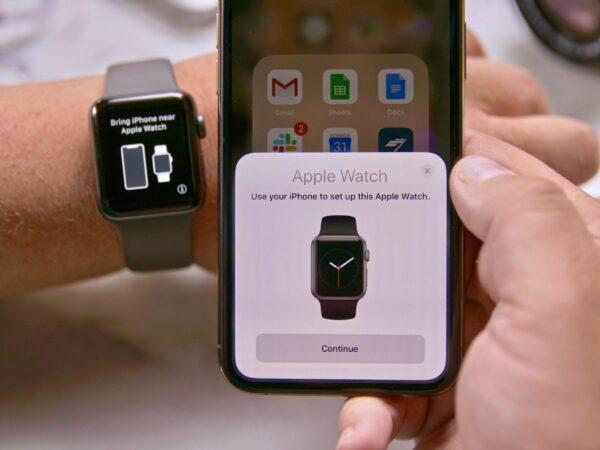 подключение Apple Watch к IPhone
