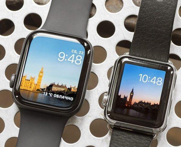 Apple Watch 40 или 44 мм для девушки