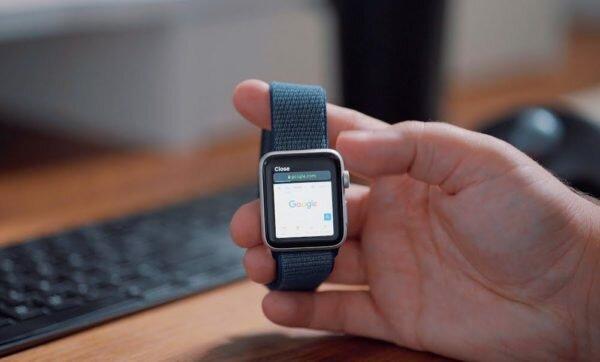 Safari на Apple Watch