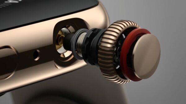 как почистить колёсико Digital Crown на Apple Watch