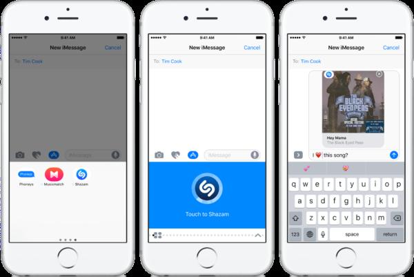 приложение iMessage