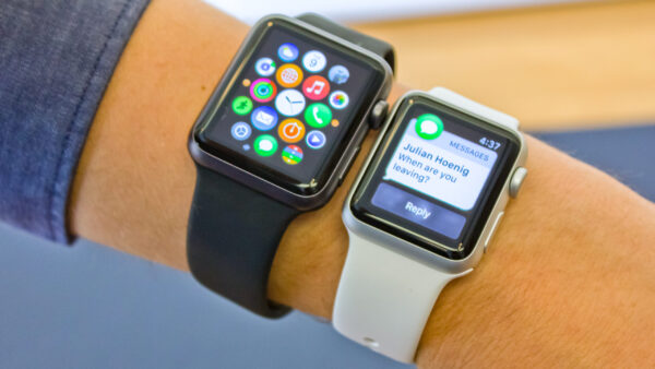 экран Apple Watch