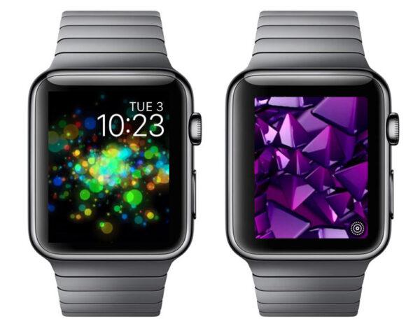 живые обои на Apple Watch