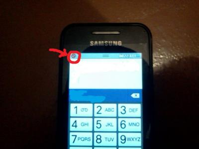 перечёркнутый круг на экране IPhone
