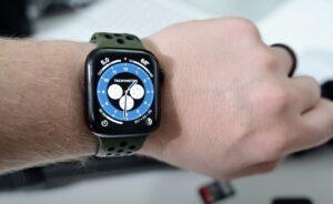 круговой циферблат Apple Watch Хронограф Pro (watchOS 7)