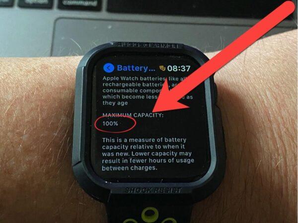 Сколько держат заряд Apple Watch Series 3
