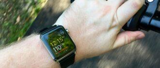 активность с разминкой в Apple Watch