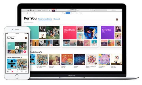 возможности Apple iTunes