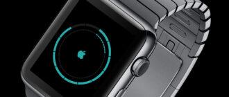 круговой циферблат Apple Watch