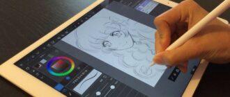 Графические редакторы для iPad