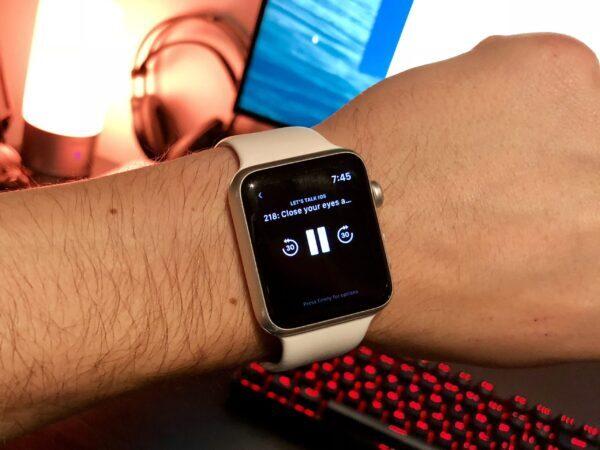 музыка на смарт-часах Apple Watch