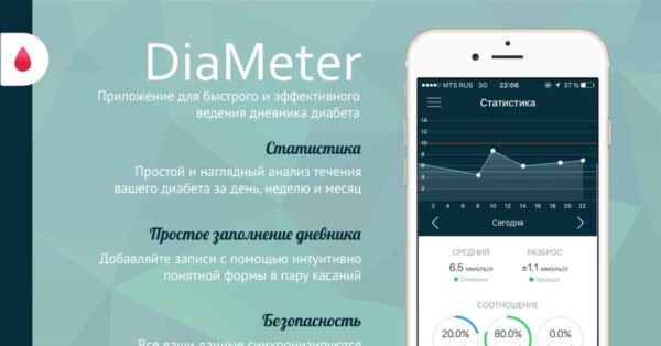 DiaMeter Ваш дневник диабета