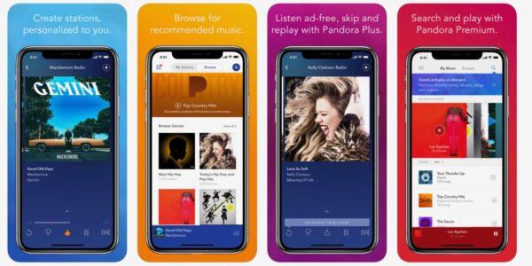музыкальное приложениеPandora